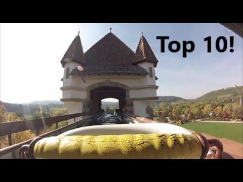 Top 10 deutsche Wildwasserbahnen 2016 HD POV