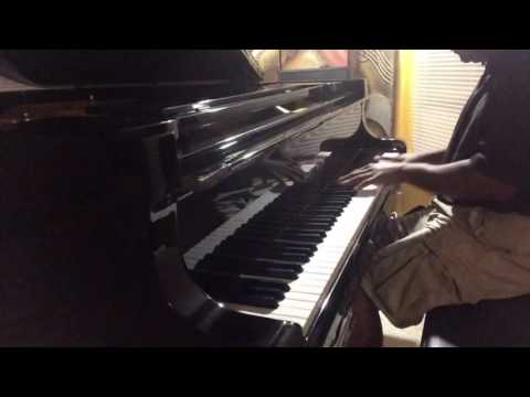 Night practice on my Young Chang 7 foot grand piano