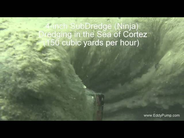 4 inci Sub Dredge Underwater Footage HD