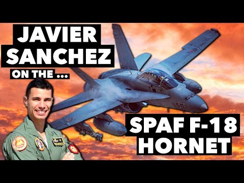 Interview with Javier Garcia Sanchez on the SPAF F/A-18 Hornet
