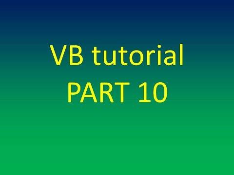 Maths function in visual basic vb 2010 for beginner part 1