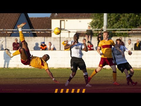 Trialist scores spectacular bicycle kick for Motherwell