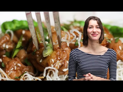 How To Make Alexis's Chicken Teriyaki Crispy Rice Noodle Bowl • Tasty