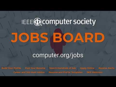 IEEE Computer Society Jobs Board