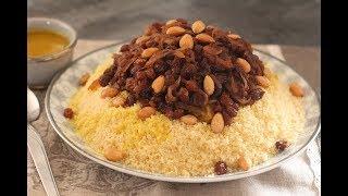 Couscous Tfaya, délicieux et bien gourmand !