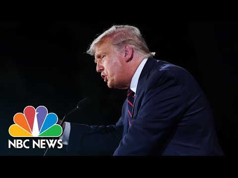 Trump Argues Large Rallies During Covid-19 Have 'No Negative Effect' | NBC News