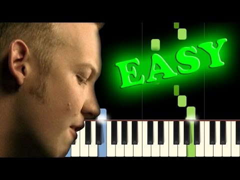 THE FRAY - NEVER SAY NEVER - Easy Piano Tutorial