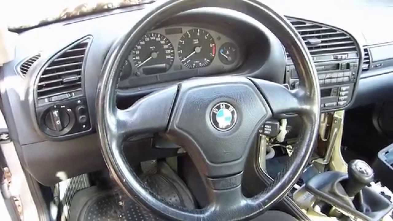 comment d monter le volant sur bmw e36 youtube. Black Bedroom Furniture Sets. Home Design Ideas