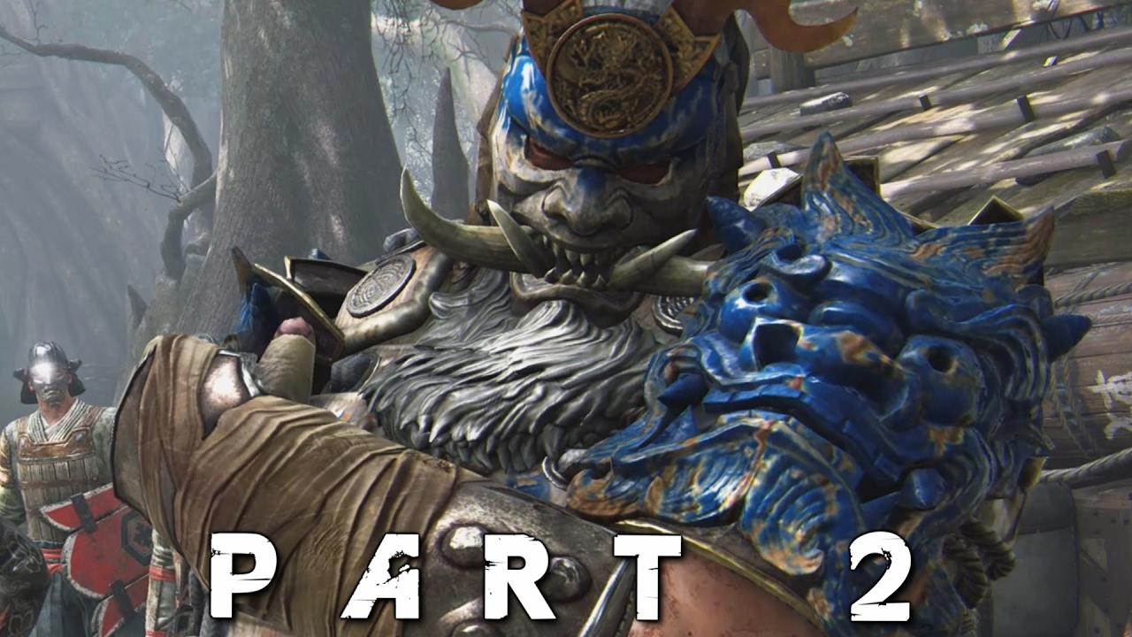 FOR HONOR Samurai Campaign Walkthrough Gameplay Part 2 - Daimyo