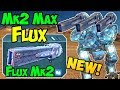 War Robots NEW Weapon Flux Mk2 Maxed Gameplay Analysis - WR 3.8