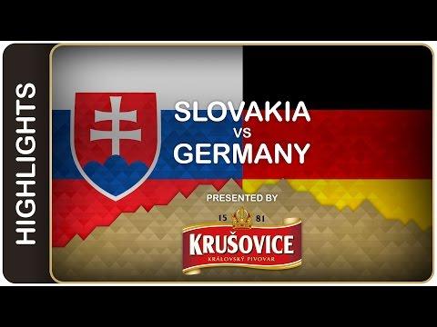 Germans get first victory - Slovakia-Germany HL - #IIHFWorlds 2016 - 동영상
