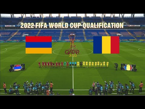 Armenia Vs Romania | 2022 FIFA World Cup Qualification