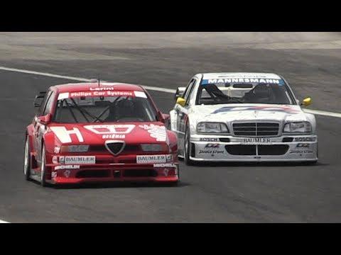 1994 Alfa Romeo 155 V6 Ti DTM & Mercedes C-Class DTM Reunited on Track!
