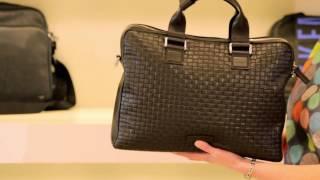 Смотреть видео мужские сумки