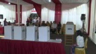 Polls open in Indonesian capital Jakarta