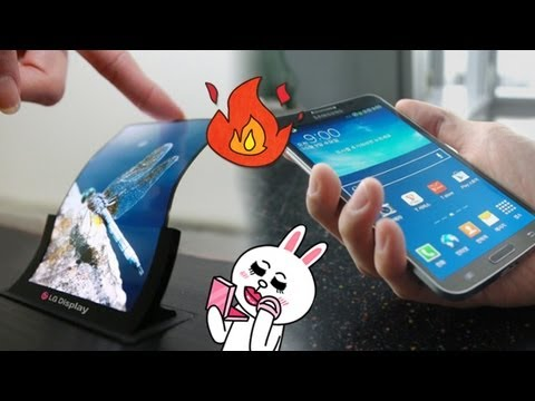 Samsung curved-screen Galaxy Round as fire starter?