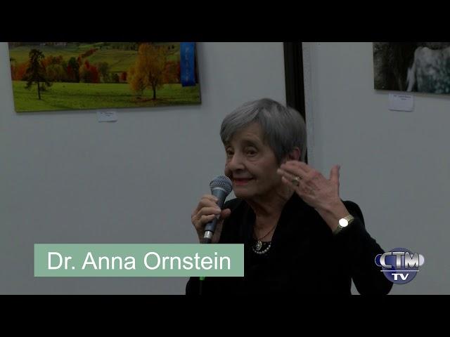 Library Hour: Survivor, Dr. Anna Ornstein – February 11, 2018