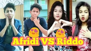 Tawhid Afridi VS Riddo Funny musical.ly| Bangla new funny video 2018