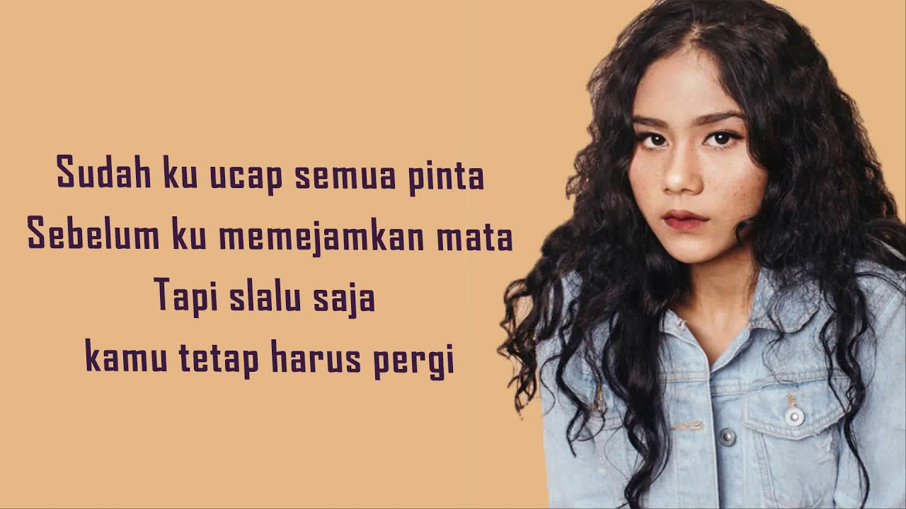 Nadin Amizah Rumpang Lyrics Youtube