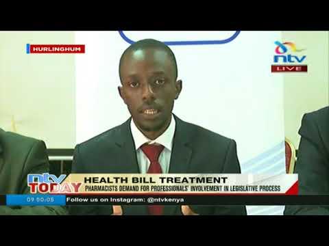 Pharmacists demand professionals' involvement in legislative process
