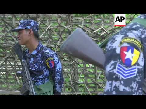 Rakhine residents tell of fear during violent clashes