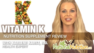 Professional Supplement Review - Vitamin K