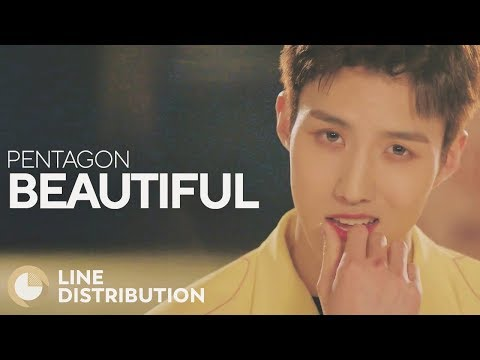 PENTAGON - Beautiful (Line Distribution)