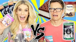 Real Food Vs. Astronaut Food (Ice Cream & More)
