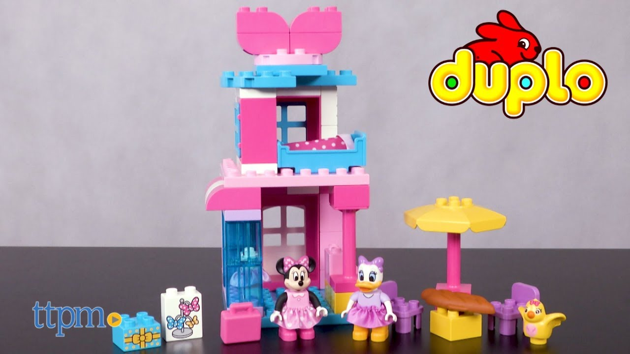 Lego Duplo Minnie Mouse Bow Tique From Lego Youtube