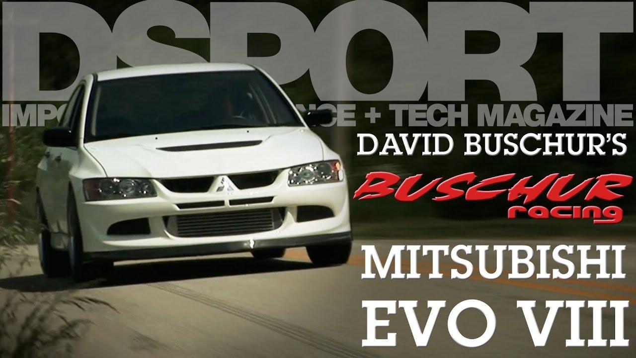DSM Legend David Buschur's / Buschur Racing Mitsubishi EVO 8