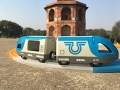 Brio 33506,Travel Battery Train, visit Purana Qila, Delhi, India  (00941)