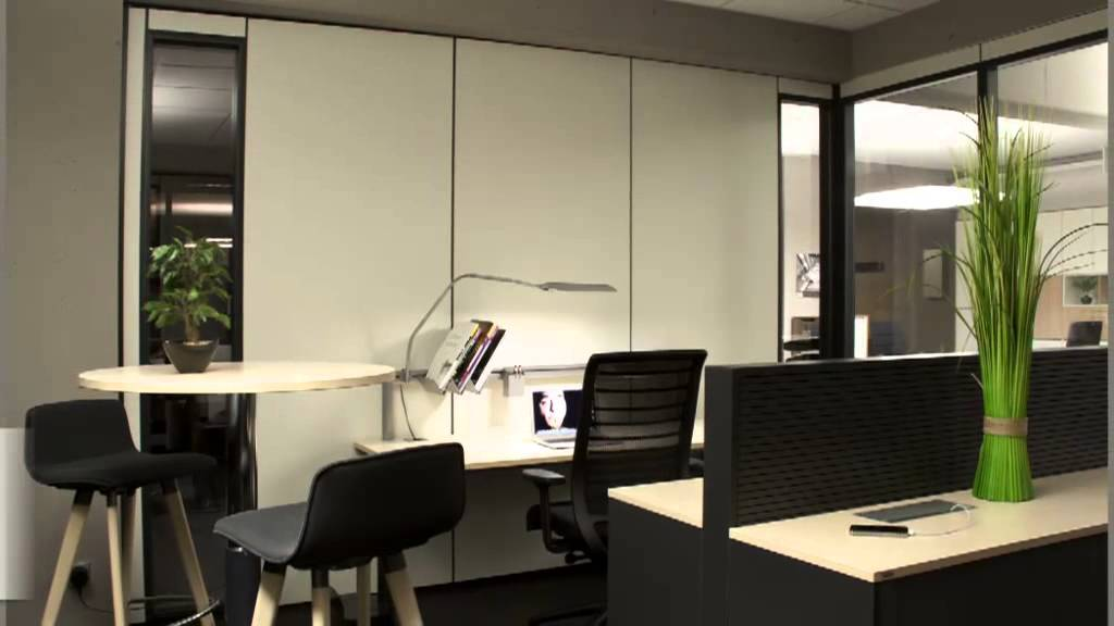 Büromöbel - Langenhagen Ergezinger Büro komplett - YouTube