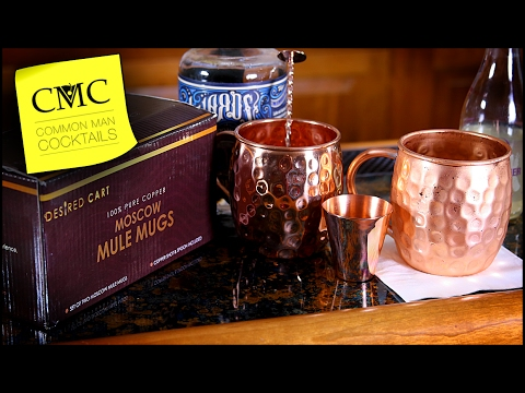 🇷🇺 Easy Vodka Drink: The Moscow Mule Kit 🦄 with a Mythical History