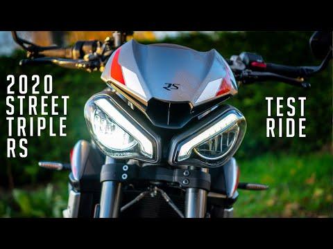2020 Triumph Street Triple RS | Test Ride