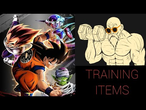 How To Get Training Items In DBL