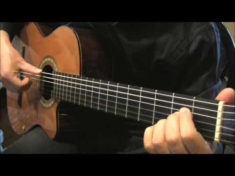Because He Lives Fingerstyle Guitar Tab Youtube