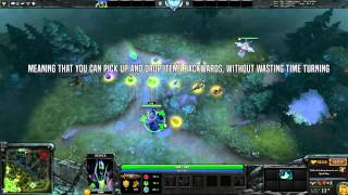 Dota 2 Mechanics - Dropping Items Efficiently