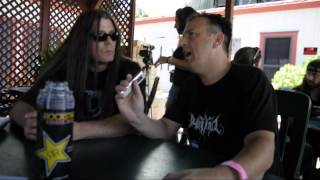 Cannibal Corpse Interview @ Mayhem Festival in Mountain View CA 07-06-2014
