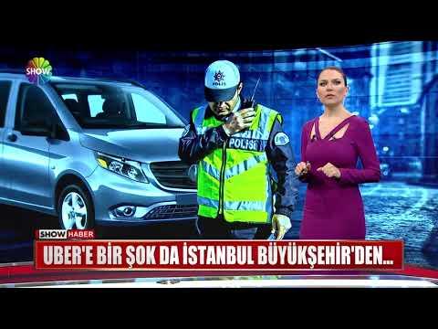 UBER'e Bir şok Da İstanbul Büyükşehir'den...