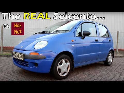 The SECRET SEICENTO! HubNut Daewoo Matiz Road Test Review