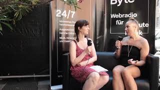 ByteFM bei der Pop-Kultur: Jenny Wilson