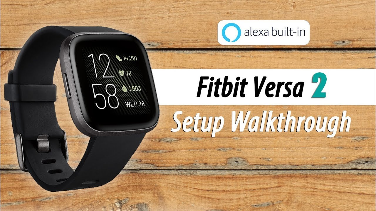 Fitbit Versa 8 How to Setup (Part 8)
