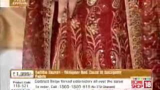 HomeShop 18 sahiba sarees @1999