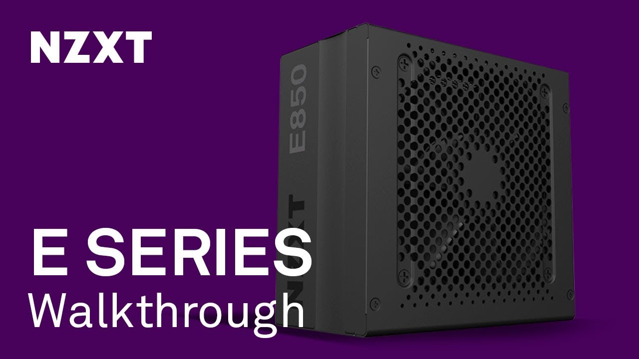 E850 Digital Power Supply for Gamers | NZXT