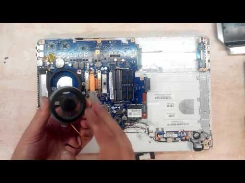 Чистка от пыли ноутбука Sony VAIO PCG-71812V