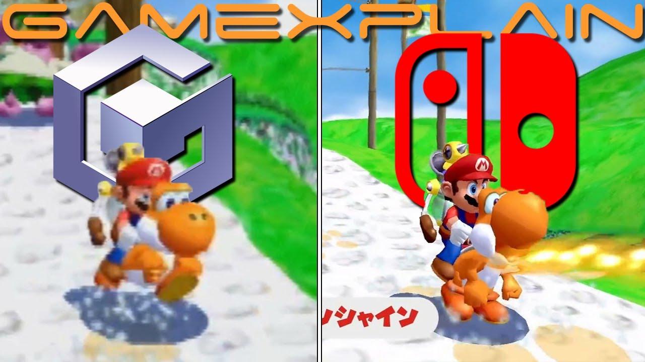 [Βίντεο] Συγριτικό του Super Mario Sunshine σε Switch και GameCube