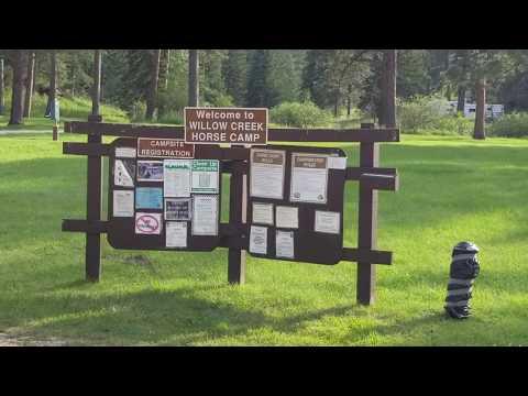 Willow Creek Horse Camp Tour