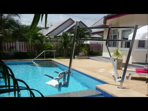 Wheelchair accessible pool villa Si Daeng, Coconut Grove, Hua Hin, Thailand for perfect holidays