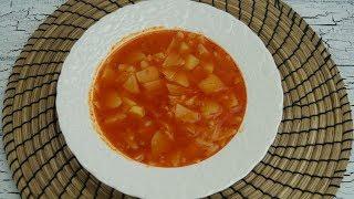 Ramazana Özel: Patatesli Hamur Corbasi Tarifi (Suppe mit selbstgemachten Suppennudeln)