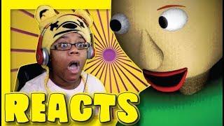 Slender Man vs Baldi's Basics by Video Game Rap Battles | Song Animation Reaction